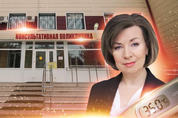 Елена Калиева говорит, что столкнулась с равнодушием врачей, когда заболела пневмонией