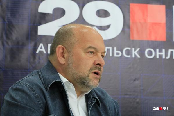 Игорь Орлов несколько раз посещал редакцию 29.RU, где отвечал на вопросы журналистов и читателей сайта