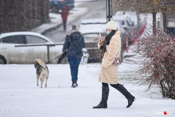 К Новому году в городе станет немного теплее