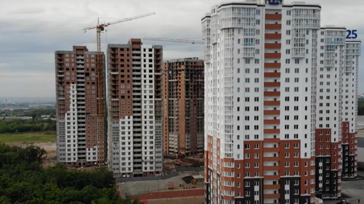За ТЦ «Метро» разрыли котлован для девятой многоэтажки