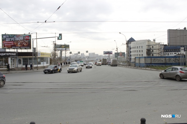 Пересечение улиц Восход и Зыряновской