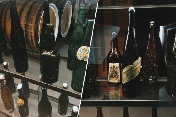 Редчайший экземпляр коллекции — бутылка1856 года выпуска