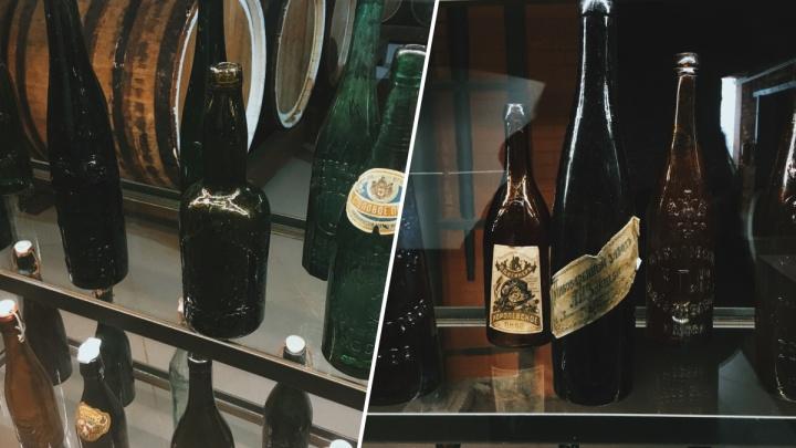 Красноярец коллекционирует пивные бутылки времен Российской империи