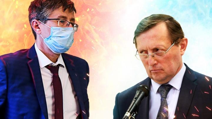 Заместитель Куйвашева ответил на письмо главного санврача области о занижении числа заболевших COVID-19