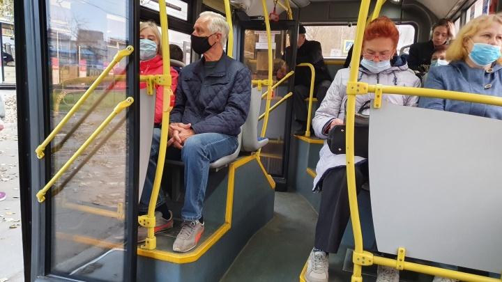 Бабушку оштрафовали на три тысячи рублей за то, что не надела маску в автобусе