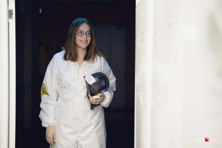 Софья только окончила медицинский университет и сразу попала на работу в «красную» зону