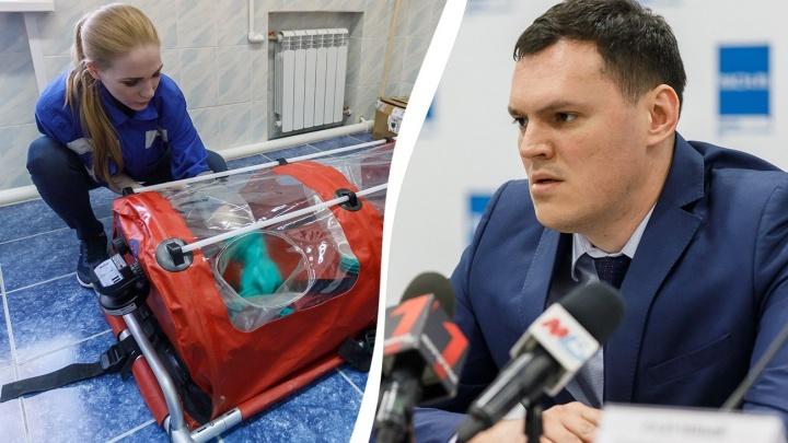 «У 1349 пациентов — пневмонии, 17 — сейчас на ИВЛ»: в Волгограде коронавирус поражает и взрослых, и детей
