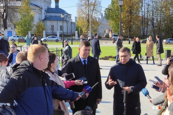 Евгений Куйвашев рассказал о благоустройстве территорий в Верхотурье