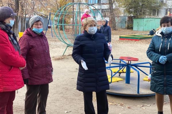 Ирина Гусева всегда открыта для живого общения с избирателями