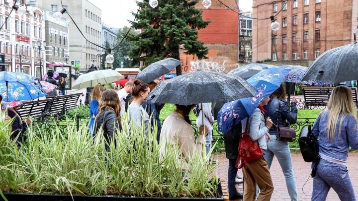 Прогноз погоды: арктическое вторжение несёт затяжные дожди