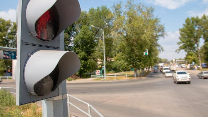 В Самаре установят 16 новых светофоров