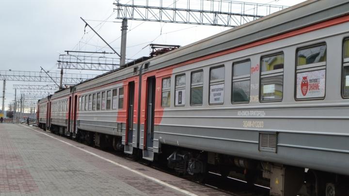 В Омской области на время карантина отменили восемь электричек