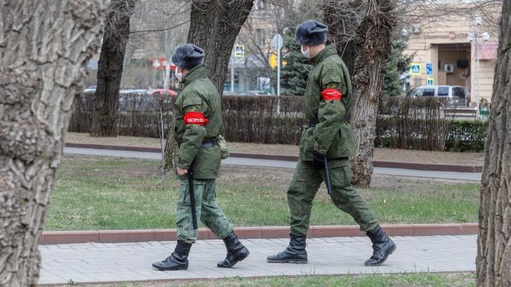 В Волгоградской области с нарушителей режима самоизоляции за неделю собрали почти сто тысяч рублей