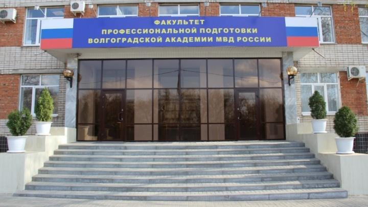В Волгограде завели уголовное дело по факту драки полицейских в академии МВД