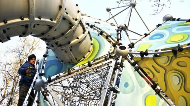 В Ярославле поставят детский игровой комплекс с необычным дизайном