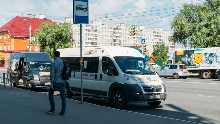 В омских маршрутках решили поднять цену за проезд