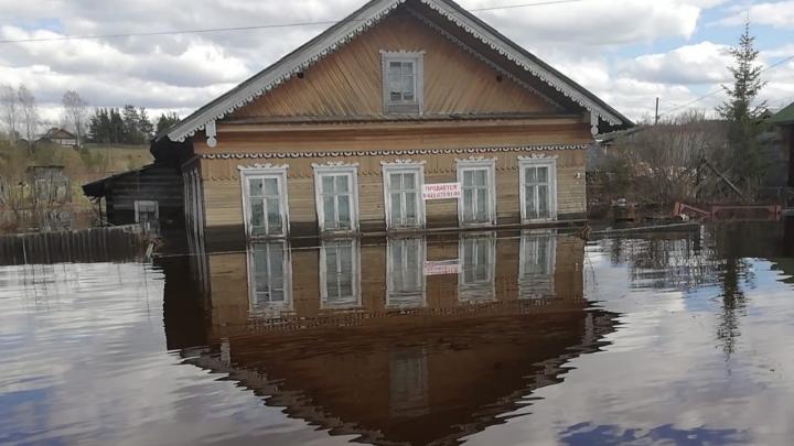 Ущерб от паводка в Вельском районе оценили в 20 миллионов рублей