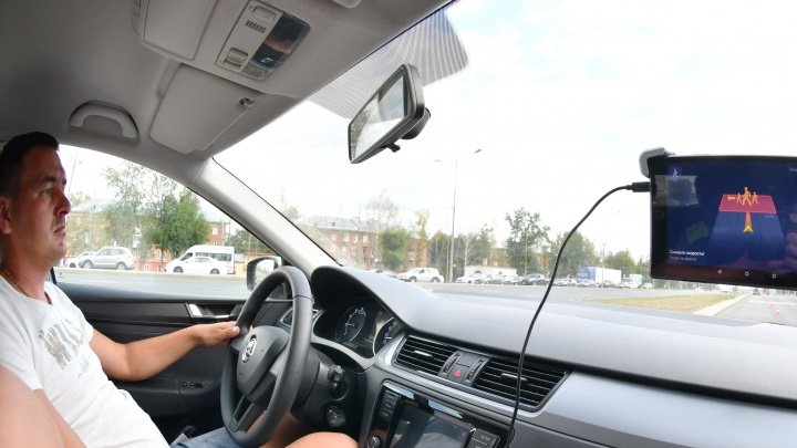 В Самаре участок Московского шоссе превратили в умную дорогу