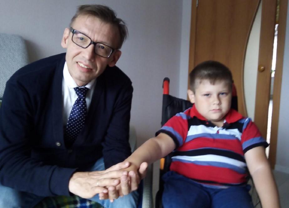 Александр Курмышкин и его подопечный из Пермского края Игнат Торопов