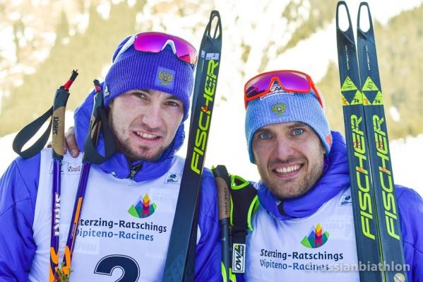 Александр Логинов (слева) и Евгений Гараничев (справа) выступают за Тюменскую область