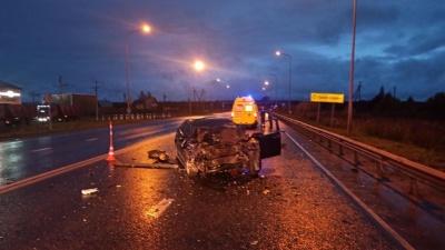 В аварии на Велижанском тракте погиб 35-летний водитель Honda