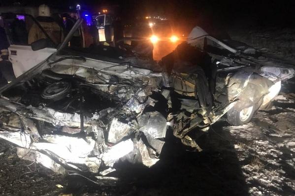 По словам очевидцев, после аварии на трассе образовалась пробка