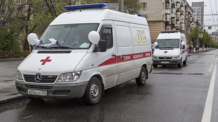 Mercedes'ы «Волгоградской неотложки» уехали работать в Москву и Краснодар