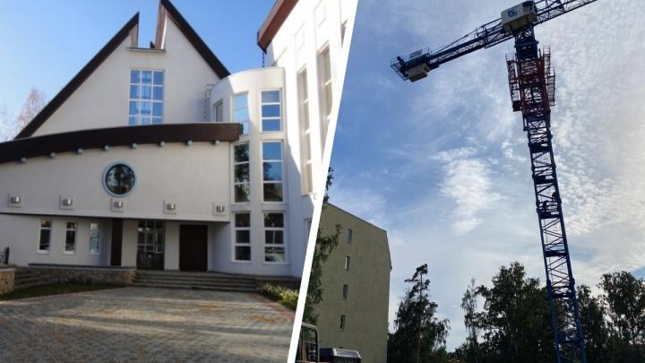 На Уктусе снесли белую усадьбу за 150 миллионов рублей ради строительства многоэтажки