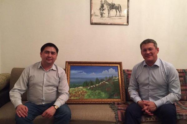 Глава региона вспомнил о московском периоде жизни и знакомстве с Бадрановым