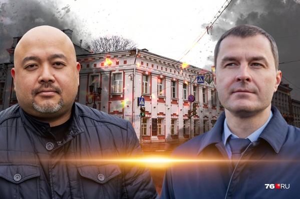 У активиста Абдуллаева и мэра Ярославля разные взгляды на озаборивание города