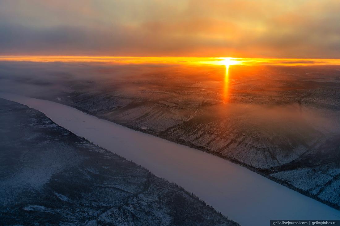 Тура находится под угрозой затопления из-за планируемого строительства Эвенкийской ГЭС