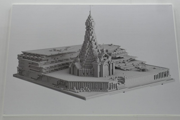 Так будет выглядеть храм Святой Екатерины