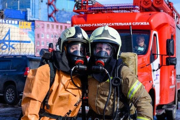Спасателей АЦБК аттестовали на проведение газоспасательных работ