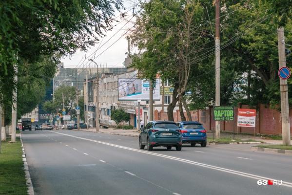Проспект Масленникова соединяет Ново-Садовую и Московское шоссе