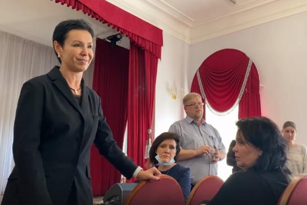 Родители и ученики были недовольны тем, что им рассказала Людмила Гаджиева