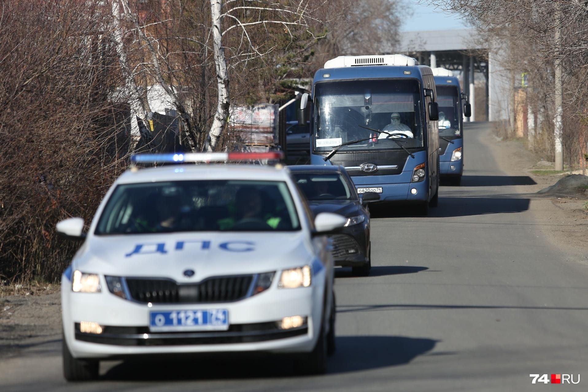 Туристов — 49 человек — в центр реабилитации«Смолино» привезли на двух заказных автобусах из Екатеринбурга