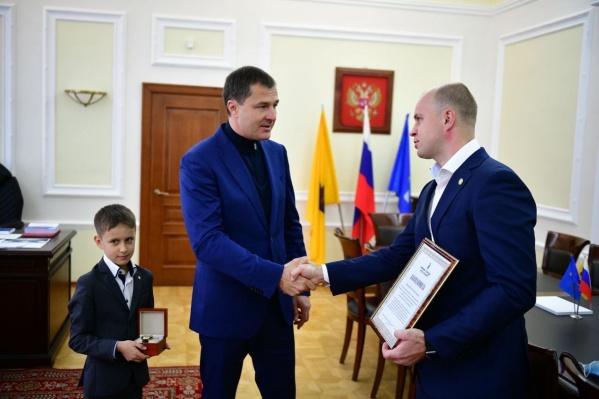 Владимир Волков назвал Антона Сурьянинова героем наших дней