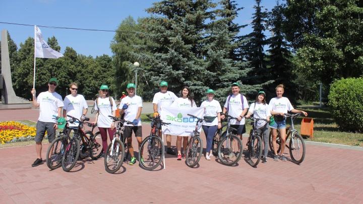 «ВелоДозор» в автограде: экологический квест объединил жителей Тольятти