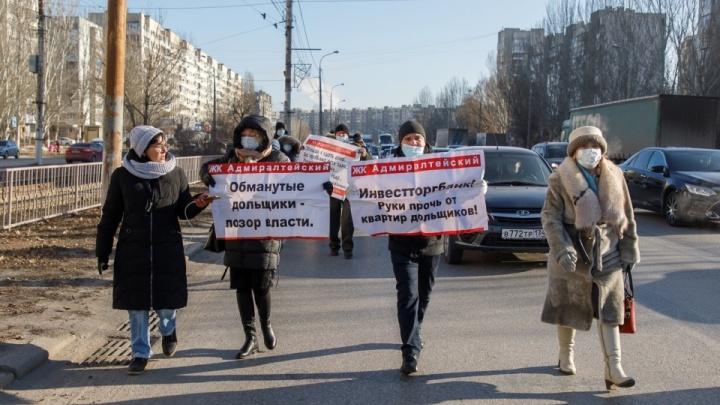 «Это было похоже на судилище»: дольщицу ЖК «Адмиралтейский» приговорили к 30 тысячам штрафа за марш отчаяния
