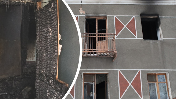 Скандальное общежитие на Новосибирской подожгли, как только вытравили последних жильцов