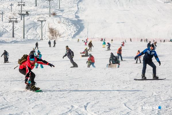 """Открытие горнолыжного сезона в Шерегеше состоится уже <nobr class=""""_"""">14 ноября</nobr>"""