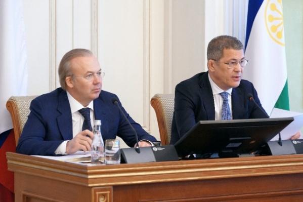 Радий Хабиров (справа) и Александр Назаров (слева)
