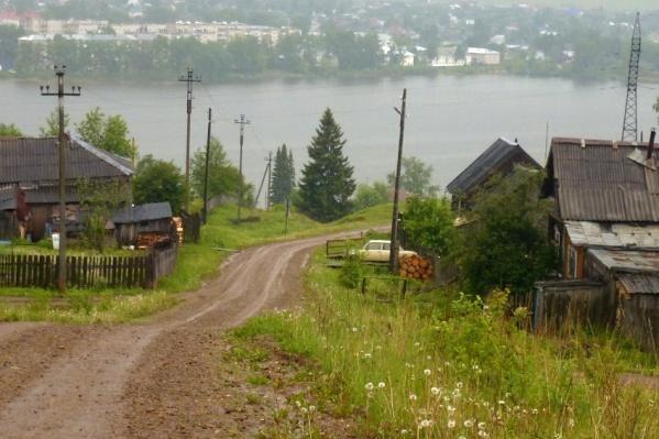 Юго-Камский — большой поселок на берегу Камы