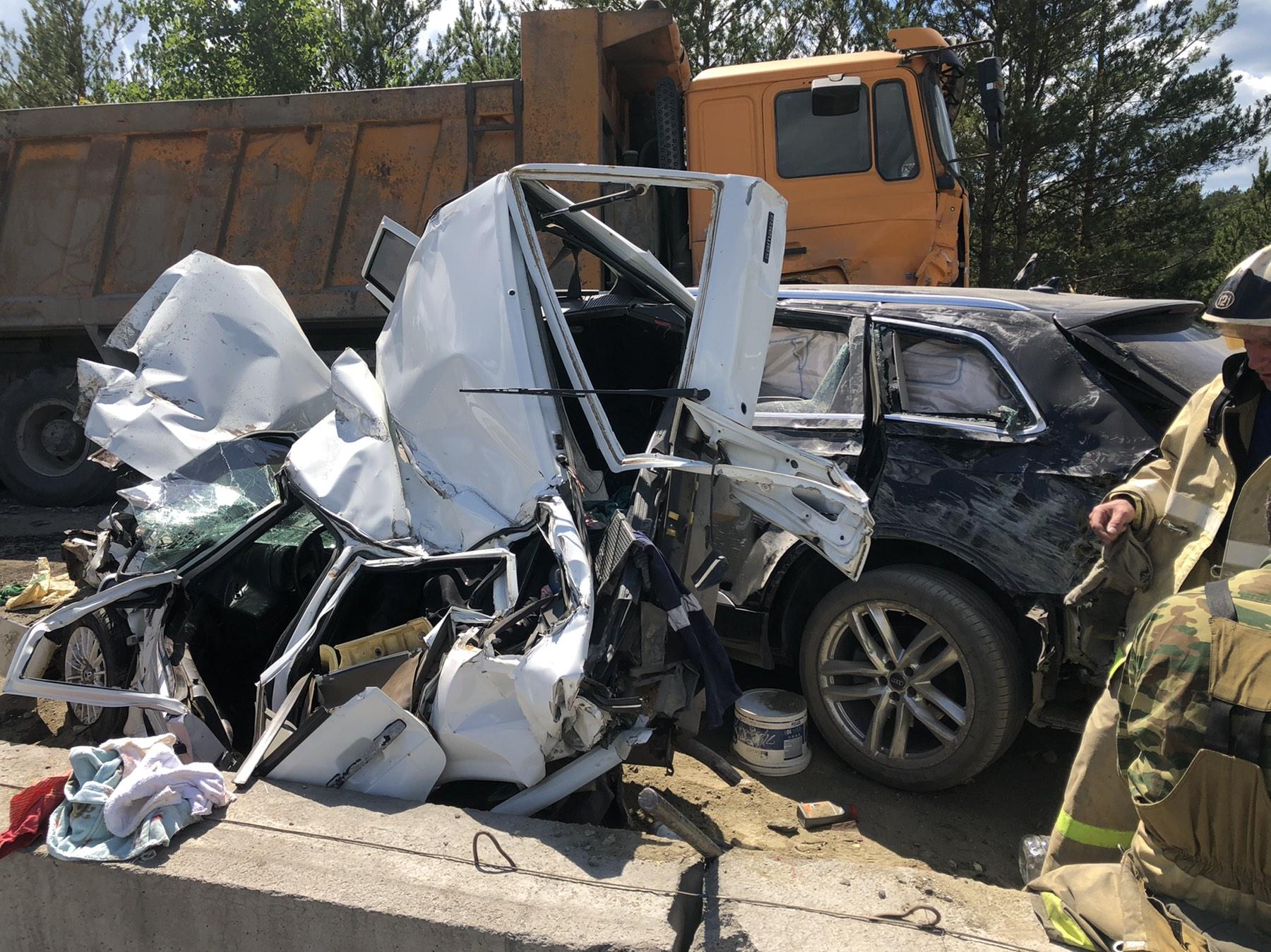 Авария произошла на участке М-5 в Катав-Ивановском районе