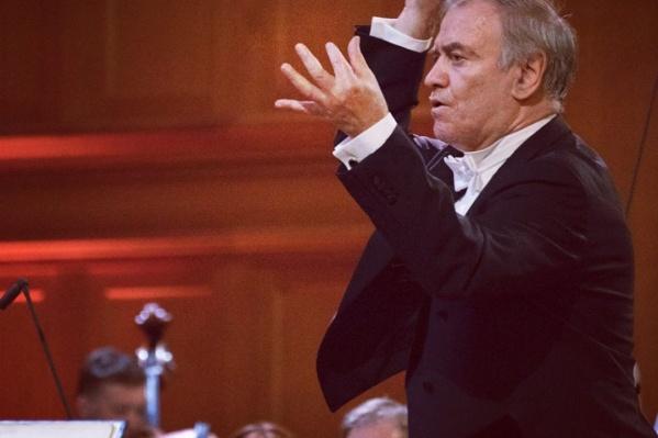 Концерт под управлением Валерия Гергиева пройдёт 26 августа