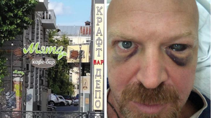 «Один избивал, тридцать смотрели»: в кафе в центре Екатеринбурга байкеры покалечили мужчину