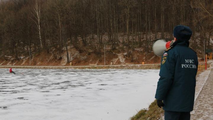 В Нижнем Новгороде сотрудники МЧС проводят рейды на льду