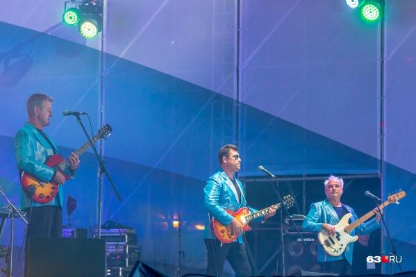 На площади Славы выступит группа «Синяя птица»
