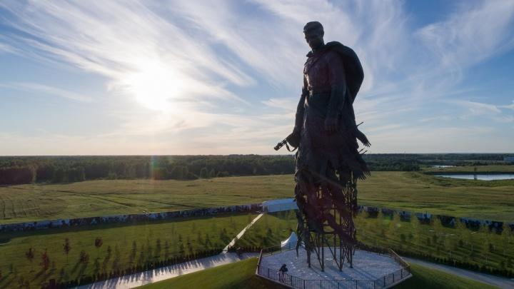 Путин открыл мемориал Советскому солдату, на который собирали всей страной