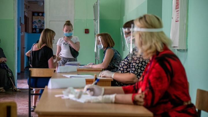 Как голосует Новосибирская область: данные на 15:00 (и список лидеров)